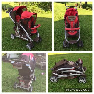 Graco Twin Stroller GUC **READ PICK-UP DETAILS BELOW