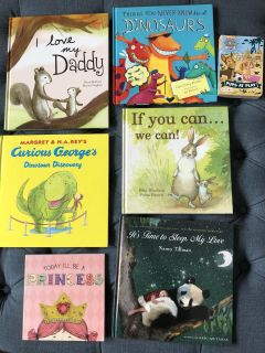 Hardcover Picture Books - lot of 7