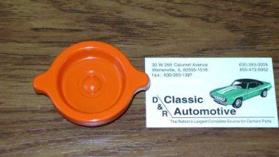 "Purchase Oil Filler Cap ""S"" Rivet Orange 69-70 Camaro Corvette Chevelle Nova *In Stock!* motorcycle in Warrenville, Illinois, United States, for US $23.45"