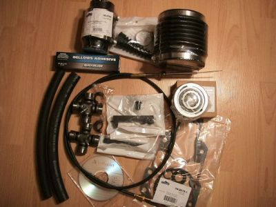 Buy Shift Cable and Bellow Transom Repair Kit Glue Mercruiser Alpha One 1 + U-joints motorcycle in Tampa, Florida, United States, for US $158.95