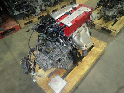 JDM K20A Honda Civic E 2.0L Dohc VTEC Engine 6 Speed LSD Tra