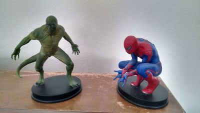 Spiderman figures
