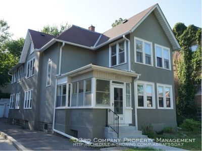 Huge Historic Hennepin-Area Duplex (lower level) – September Move-In!