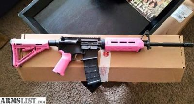 For Sale: Anderson AR15 pink furniture
