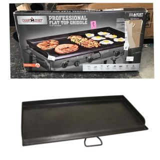 Camp Chef Camping Gear Accessories Professional Griddle 37in. Length X 16in. Width Griddle