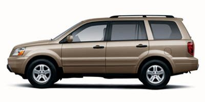 2005 Honda Pilot EX-L (Desert Rock Metallic)