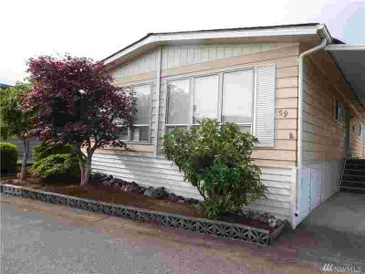 1415 84th St SE #59 Everett Two BR, Everyone's favorite 55+