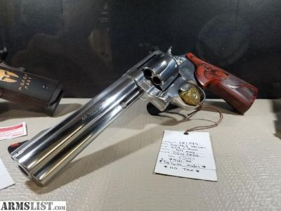 For Sale: Like New Smith & Wesson 629 Talo Deluxe 44 mag