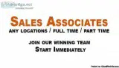 Sales associates and team leaders