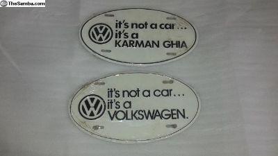 """""""It's not a car... it's a Volkswagen"""""""