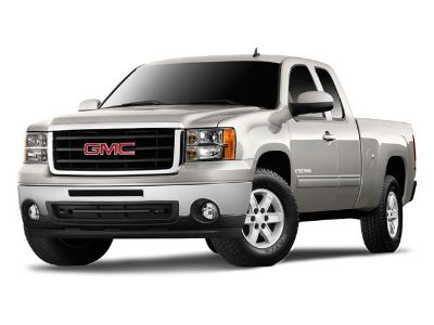 2009 GMC Sierra 1500 SLE (Summit White)