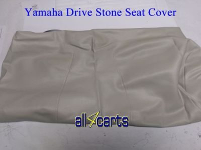 Purchase Yamaha Drive Golf Cart Seat Back Cover Stone | 2007 up | G29 | YDR motorcycle in Harrisonburg, Virginia, United States, for US $61.95