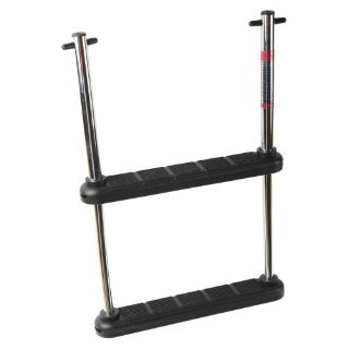 Sell Two Step Under Platform SS Telescoping Ladder (Wide) #AM1301S motorcycle in Chino, California, United States, for US $98.99