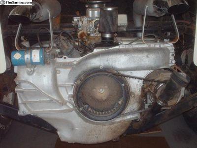 1975 vw bus engine