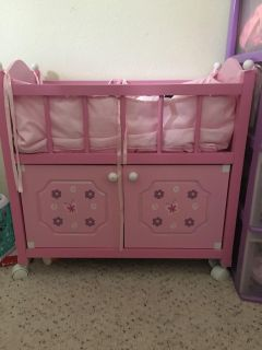 Baby Doll bed and storage