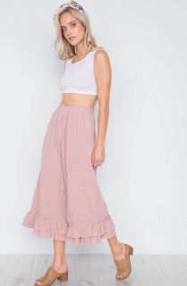 Flower sac pants