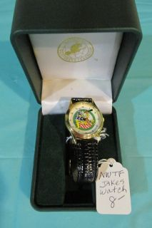 Unique National Wild Turkey Federation Jakes Watch works-in box- battery not included