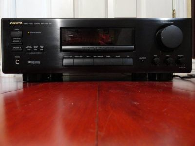 ONKYO A-SV 210 AUDIO VIDEO CONTROL AMPLIFIER remote included