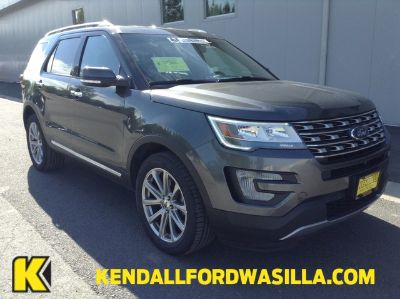 2017 Ford Explorer Limited (MAGNETIC GRAY)