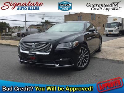 2018 Lincoln Continental Select FWD (Black Velvet)