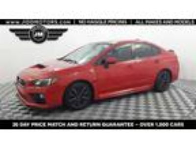 Used 2016 Subaru WRX Red, 80.4K miles