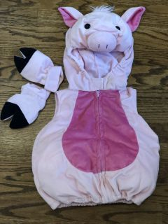 Halloween Pig Outfit