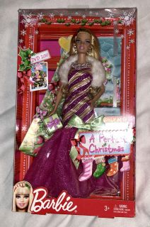 new in box a perfect Christmas Barbie