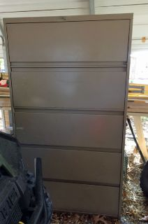 Lrg Office File Cabinet