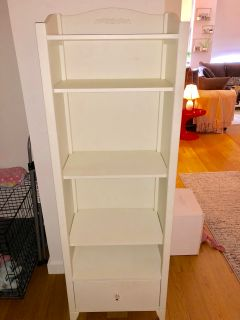 Pottery Barn PB Teen Chelsea White Tower Bookcase