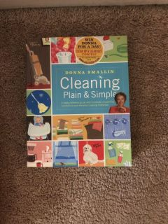 Cleaning book .