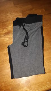 Yoga pant with drawstring Med