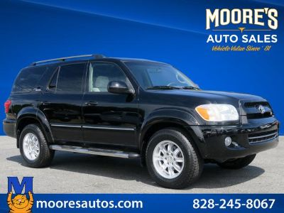 2007 Toyota Sequoia SR5 (Black)