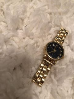 Charming Charlie Gold and Navy Watch