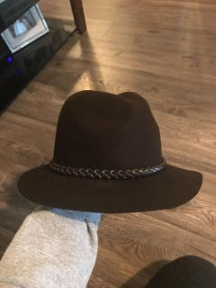 Forever 21 brown fall hat