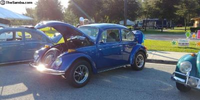 Restored 1973 Beetle Standard