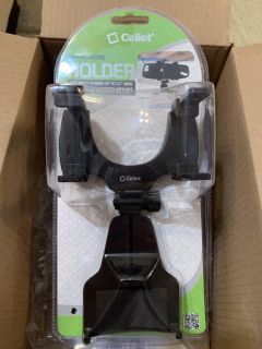 Rearview mirror mount for cell phone