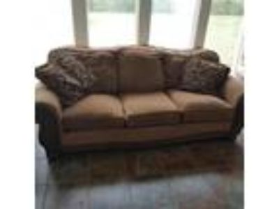 Couch, Loveseat, and Rocker/recliner.