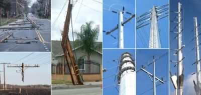 Electrical Distribution Poles | Electric Pole Manufacturer