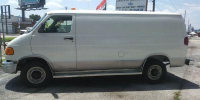 2001 Dodge Ram Van 3500 (White)
