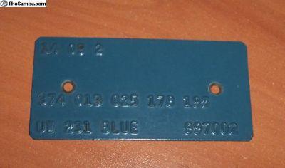 M-code Plate