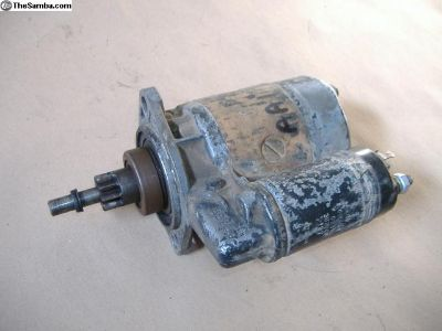 VW Bus Starter 4 speed 76 -79 yr SR87X
