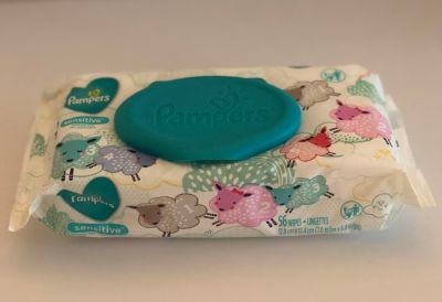 Pampers Sensitive Wipes- 4 of 4