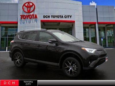 2018 Toyota RAV4 SE (black)