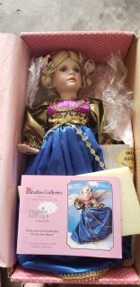 Pennies from Heaven Porcelain Doll