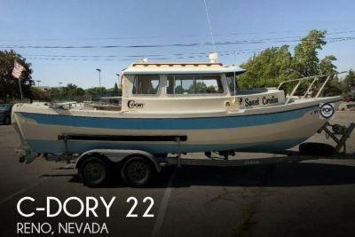 1992 C Dory 22 Cruiser