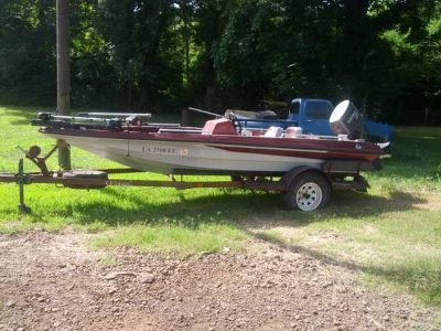 Kingfisher Bass boat with 70 hp nissan plus