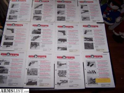 For Sale: Gun Test Magazines