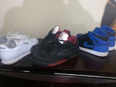 Air Jordan 1, Air Jordan 5, Reebok