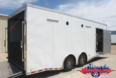 24' Loaded X-Height Nitro Race Car Trailer Wacobill.com