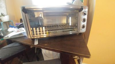 Toaster oven, extra wide
